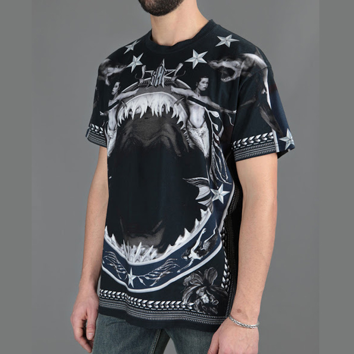 เสื้อยืดGivenchy Shark Mermaid (Oversize)1:1