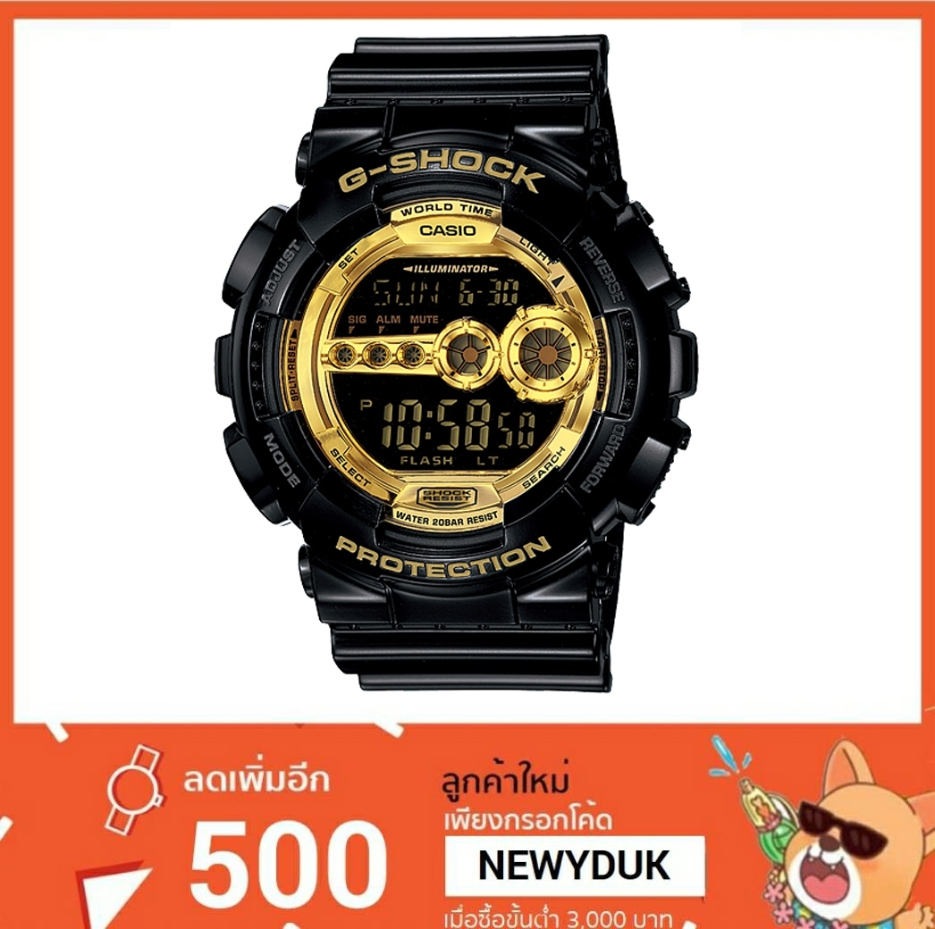 GShock G-Shockของแท้ ประกันศูนย์ GD-100GB-1ADR
