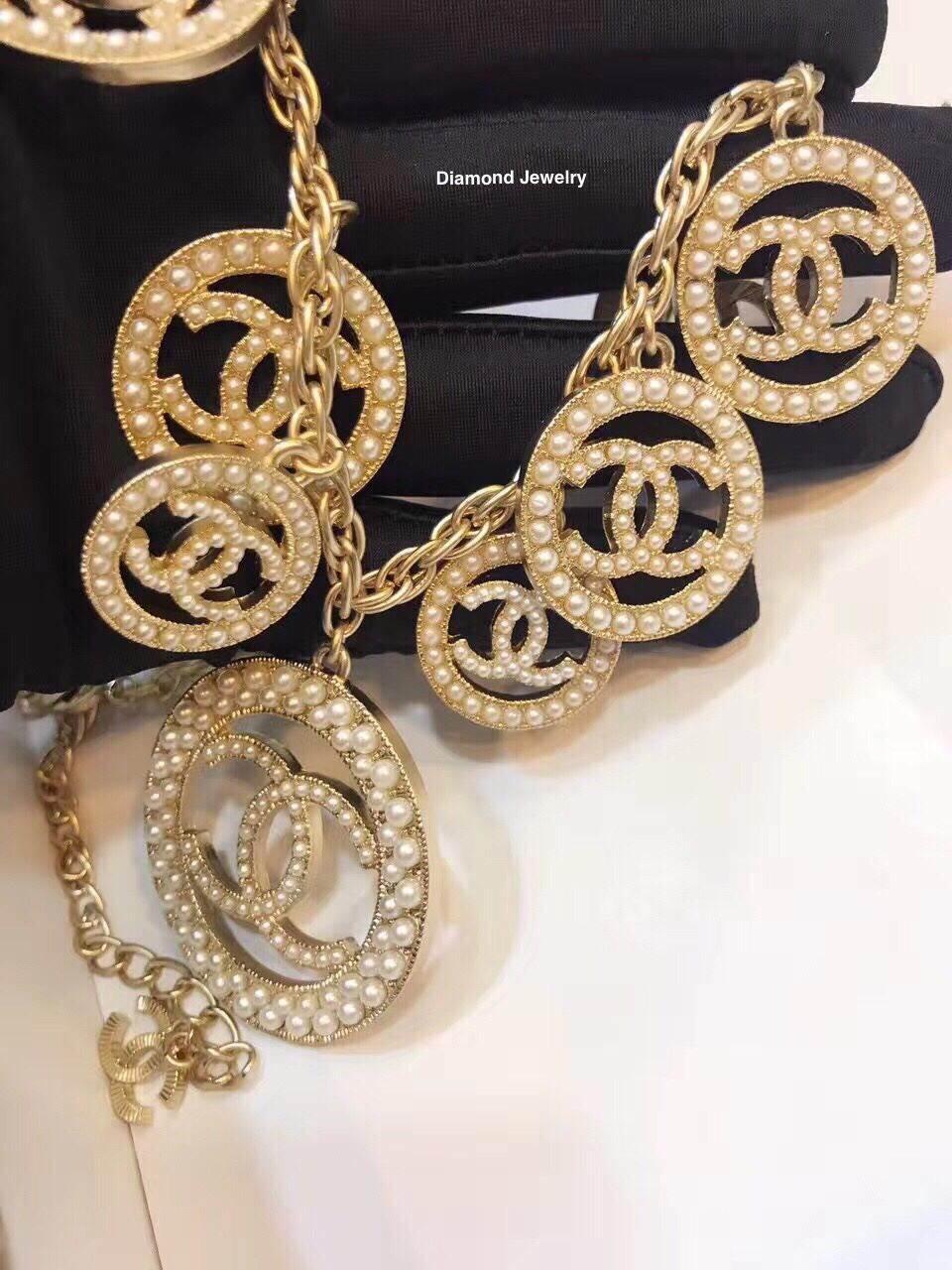 พร้อมส่ง Chanel Necklace สร้อยคอ Chanel เกรดงานอย่างดีค่ะ