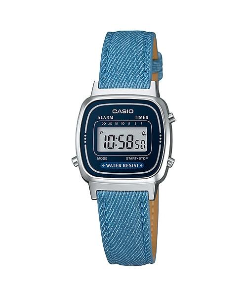 นาฬิกาข้อมือผู้หญิงCasioของแท้ LA670WL-2A2