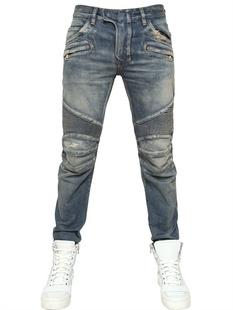 กางเกงBalmain Biker Jeans Mens 13