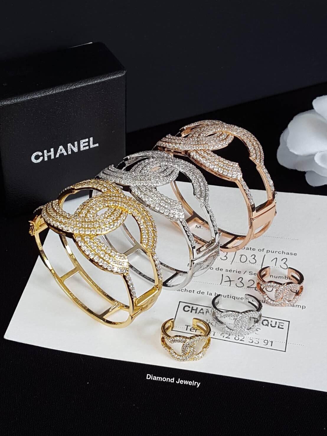 พร้อมส่ง Chanel Bangle & Ring กำไลและแหวนชาแนล
