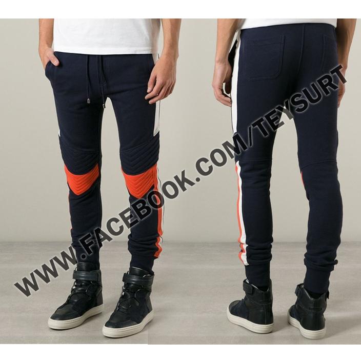 กางเกง Balmain Jogging Pants Denim SS2015