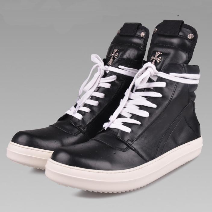 รองเท้า Rick OwensXChrome Hearts