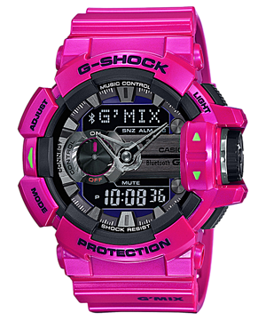 GShock G-Shockของแท้ G-MIX Bluetooth GBA-400-4C EndYearSale