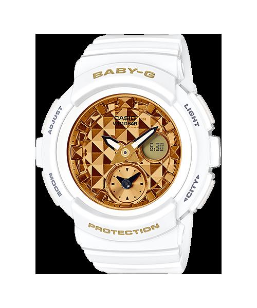 Baby-G ของแท้ ประกันศูนย์ BGA-195M-7A ThankYouSale เบบี้จี นาฬิกา ราคาถูก ไม่เกิน สี่พัน