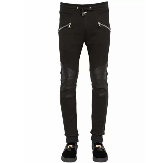 กางเกงBalmain Zipped Biker Sweatpants S-M-L-XL