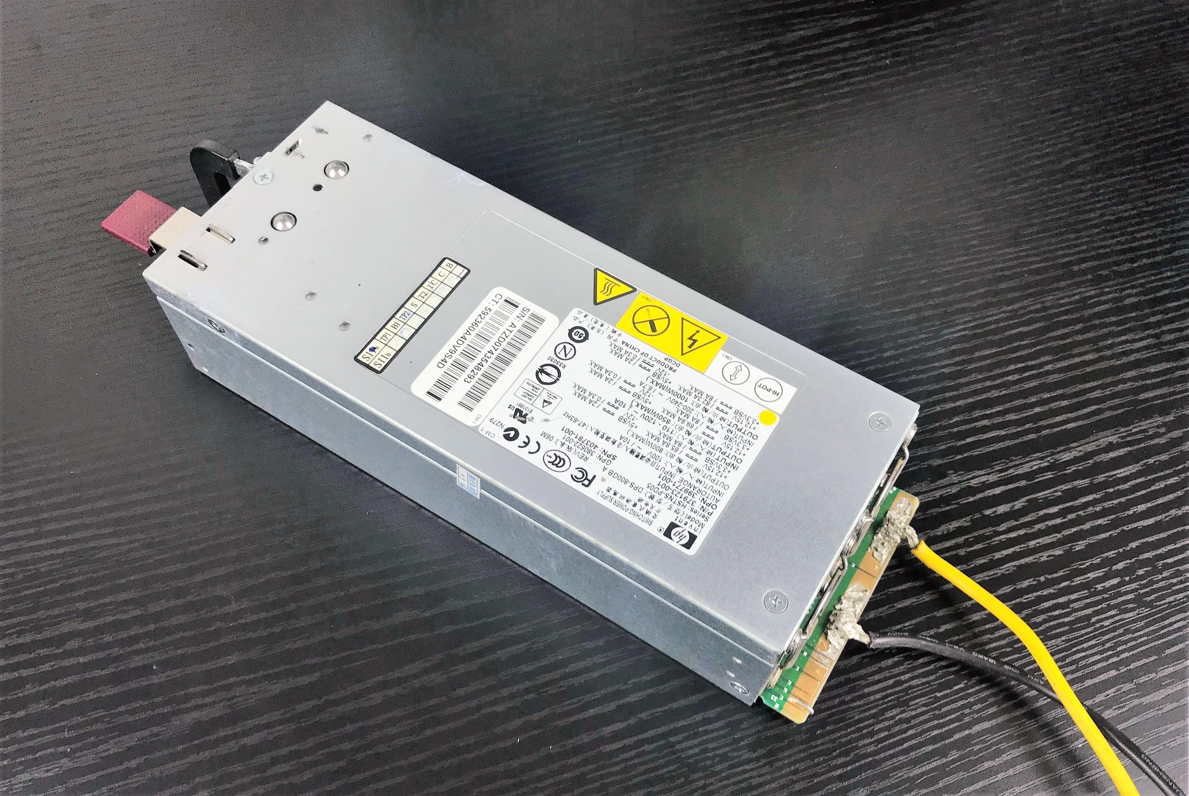 Power Suply HP 1000W full wat 12V