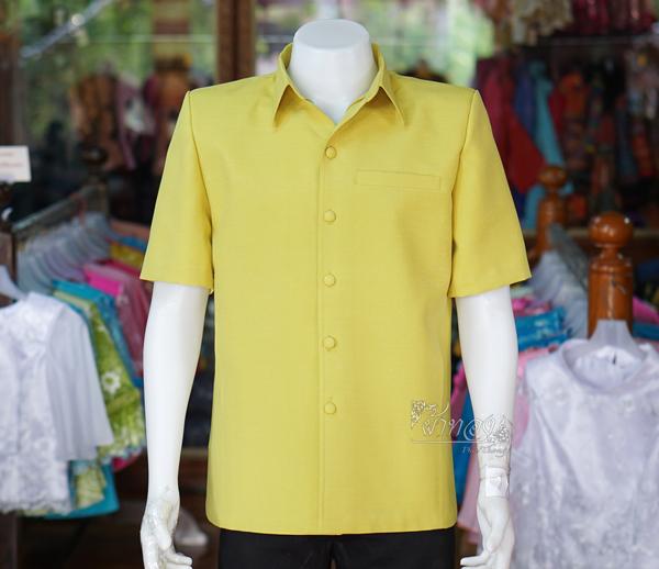 เสื้อสูทไหมแพรเงิน ไซส์ XL