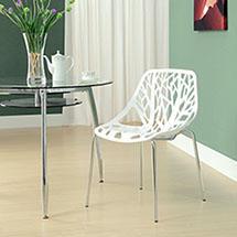 เก้าอี้ รุ่น Replica สีขาว