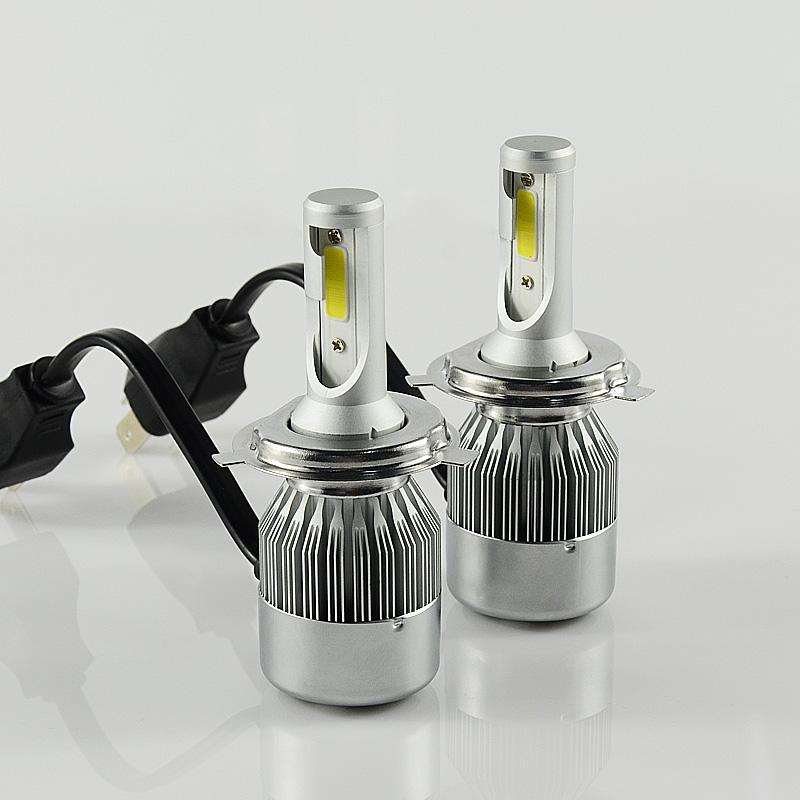 ไฟหน้า LED ขั้ว H4 COB 36W รุ่น C6