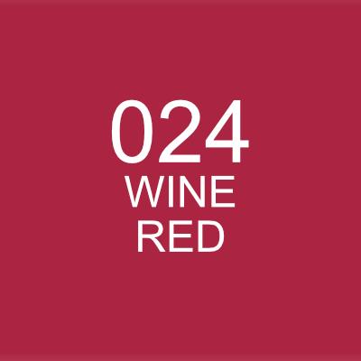 ปากกาพู่กัน ZIG CLEAN COLOR Real Brush - 024 Wine Red