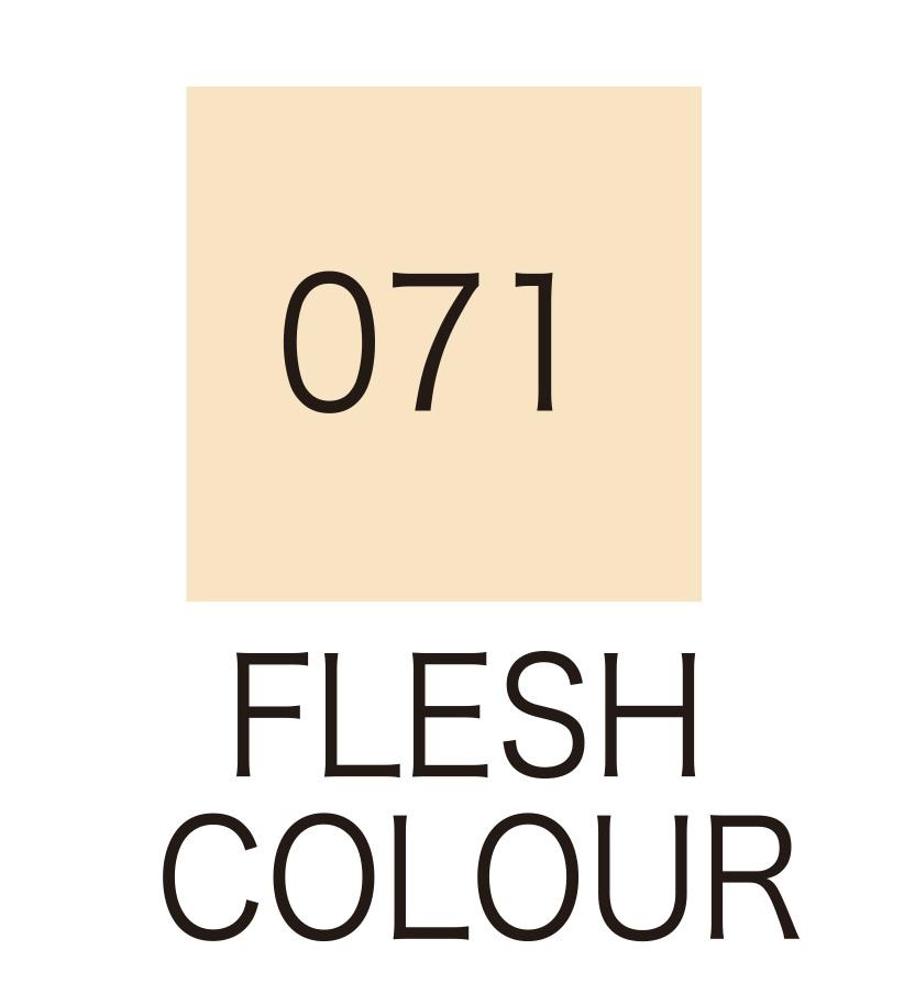 ปากกาสี 2 หัว ZIG CLEAN COLOR No.071 - Flesh Colour