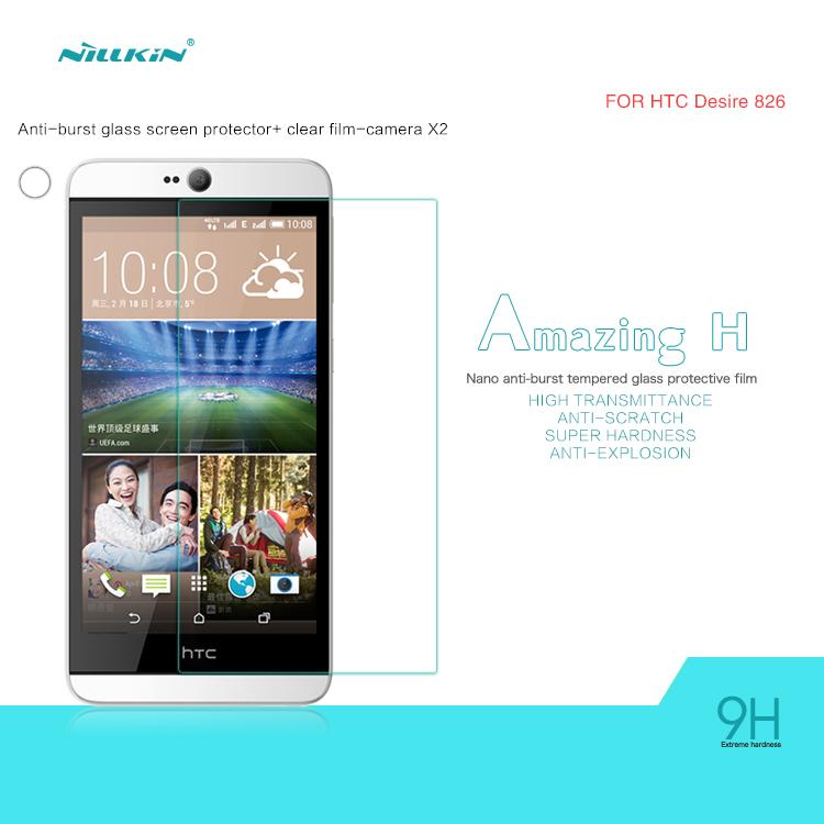 กระจกนิรภัย HTC Desire 826 ของ NILLKIN Amazing H Nanometer Anti-Explosion Tempered Glass Screen Protector