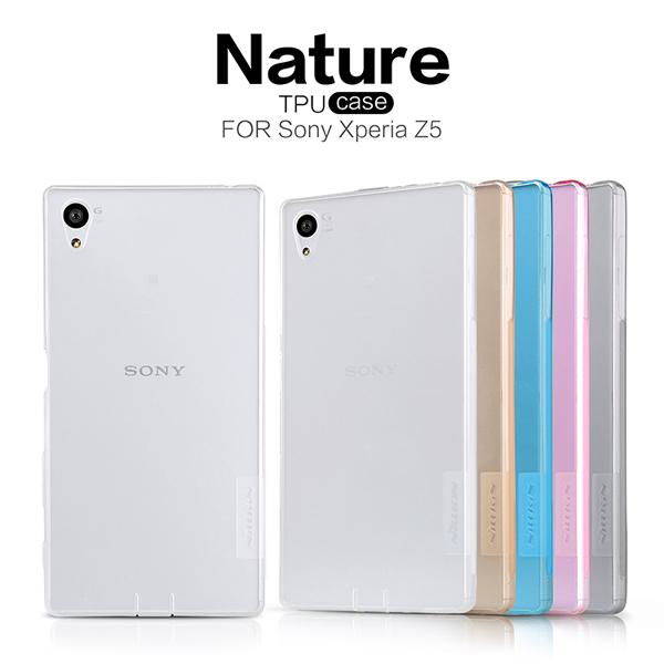 เคสยาง Xperia Z5 ของ Nillkin Nature TPU 0.6mm Case