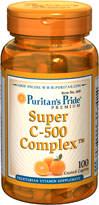((แบ่งจำหน่าย)) Puritan Super C-500 Complex 30 เม็ด (USA) วิตามินซีบำรุงผิวพรรณ เพื่อผิวกระจ่างใส & ทานเสริมเพื่อเพิ่มฤทธิ์ของกลูต้าไธโอน