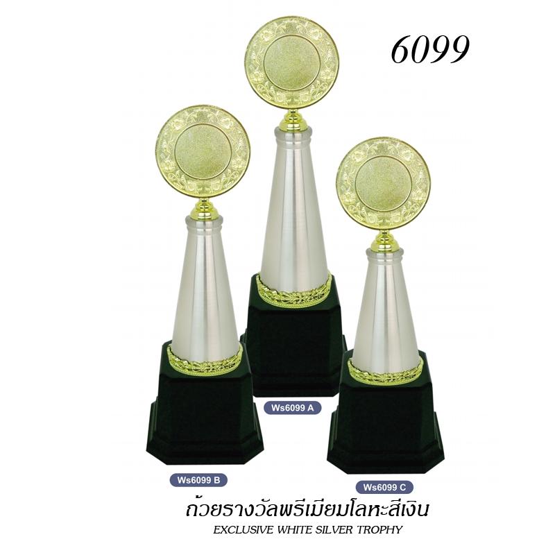 WS-6099 ถ้วยรางวัล White Silver