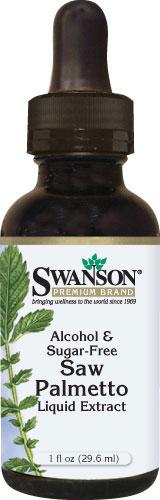 Swanson Saw Palmetto Liquid Extract 1000 mg 30 ml เซรั่มเข้มข้น(ที่สุด)ช่วยยับยั้ง DHT สาเหตุของผมร่วงจากกรรมพันธุ์