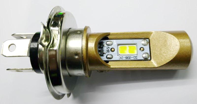 ไฟหน้า LED ขั้ว H4 COB 15W Gold Series