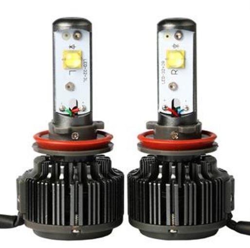 ไฟหน้า LED ขั้ว H11 Cree 2 ดวง 30W Turbo V16