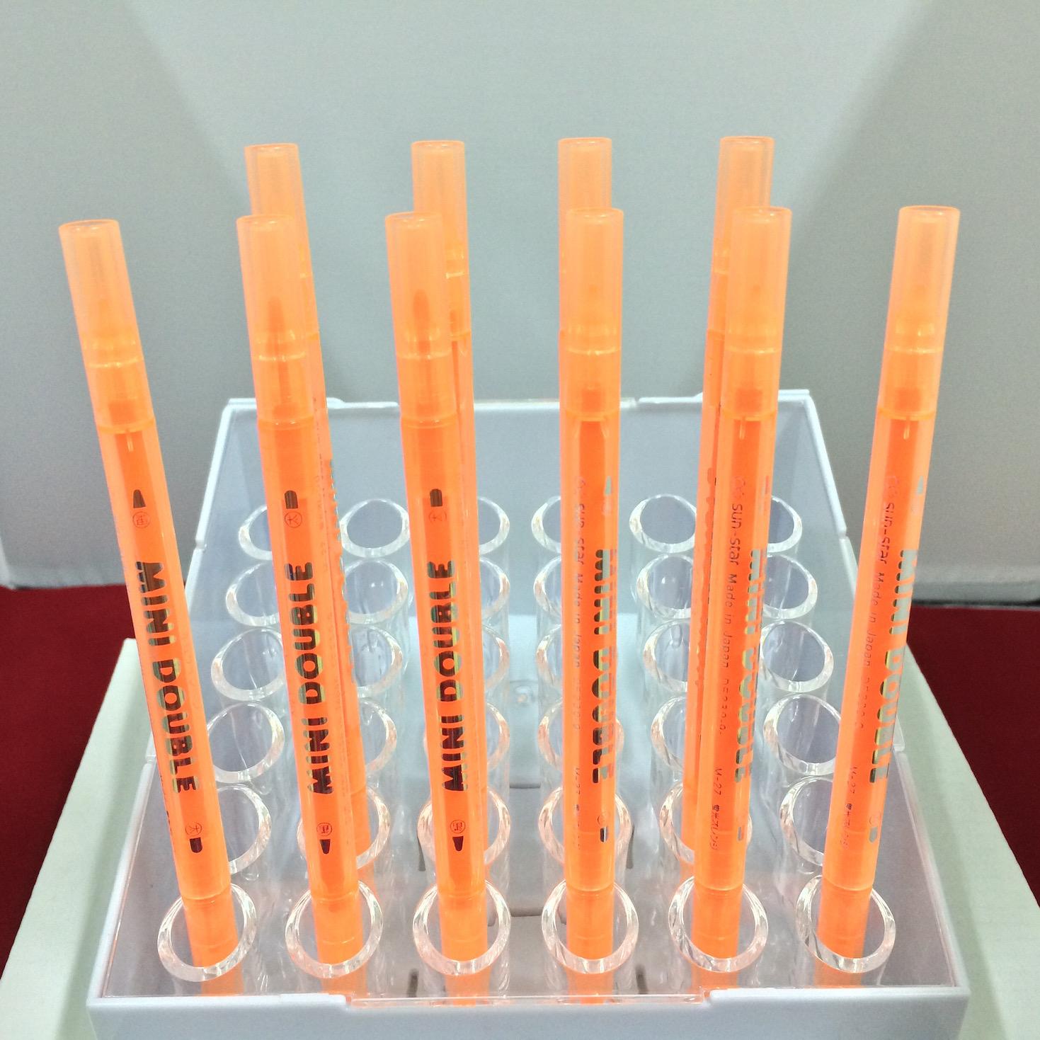 ปากกาสี 2 หัว MINI DOUBLE - M27