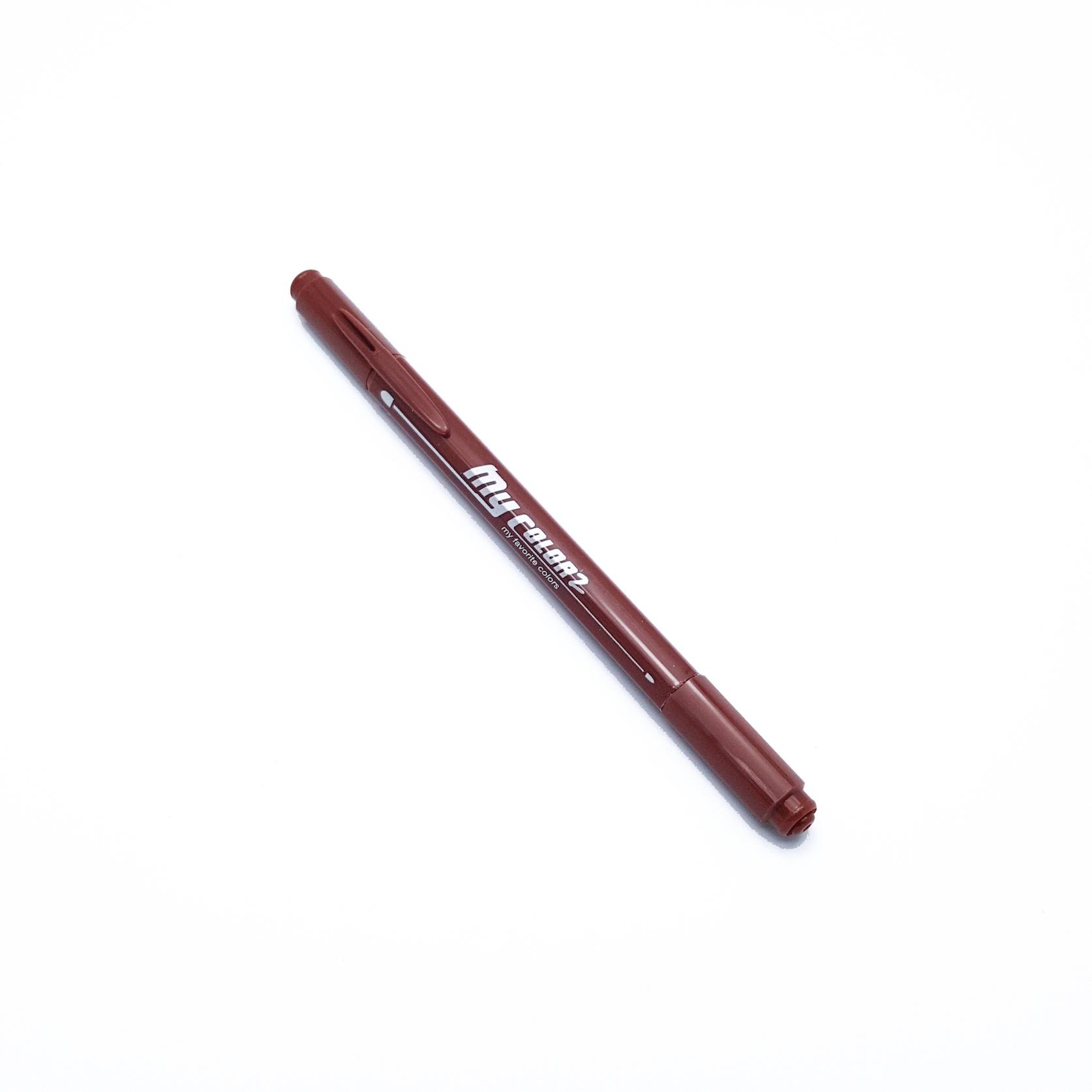 ปากกาสี 2 หัว My Color 2 - No.31 Brown
