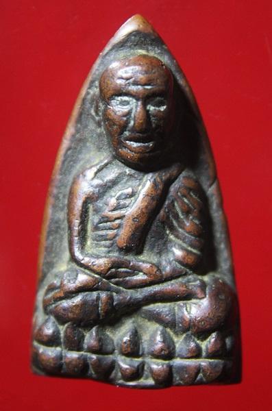 หลวงปู่ทวด พิมพ์ใหญ่ A ไหล่จุด วัดช้างให้ จ.ปัตตานี ปี2505