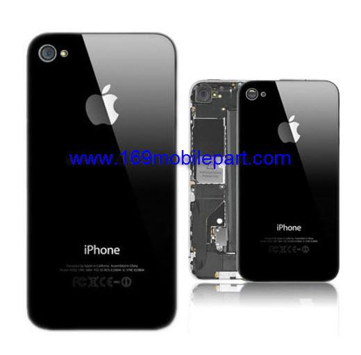 ฝาหลัง iPhone 4 สีดำ งานแท้