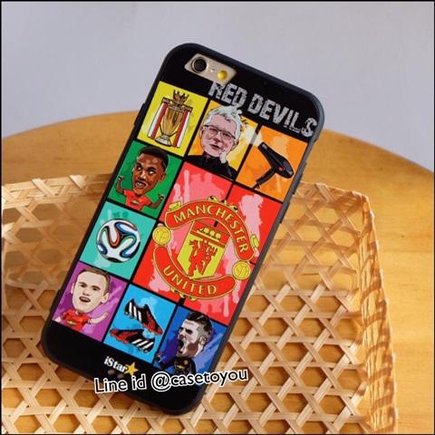 เคสฟุตบอลทีม Manchester United 02 iPhone 6 Plus/ 6S Plus