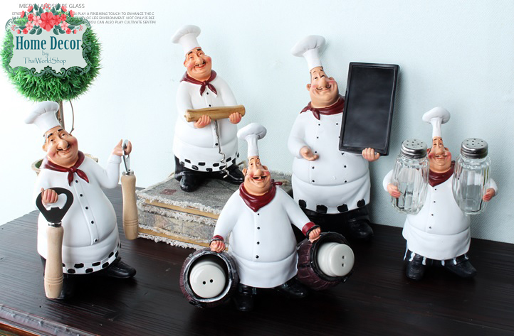 ชุดพ่อครัว ( จำนวน 5 ชิ้น )