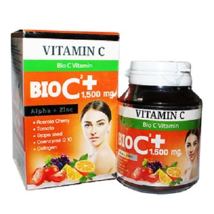 BIO C Gel Plus 1,500 mg. วิตามิน ไบโอ ซี เจล พลัส 1500 มิลลิกร้ม