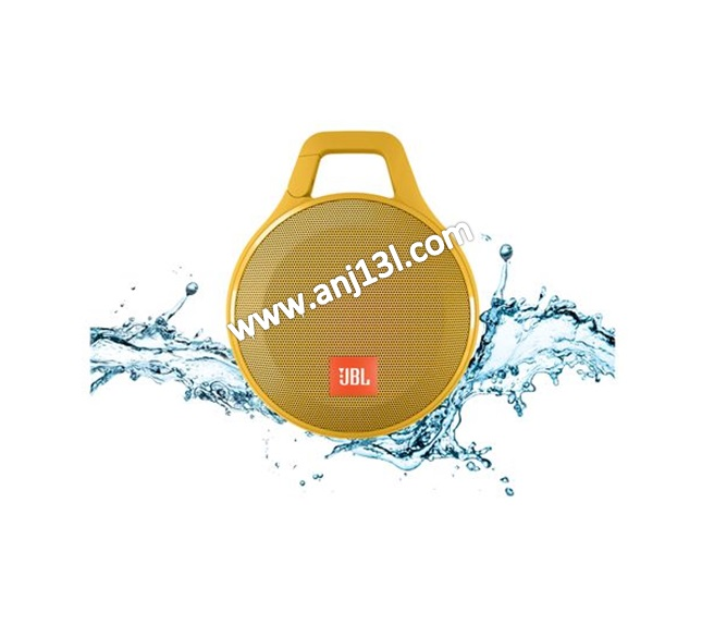 JBL Clip+ Splashproof Speaker ultra-light, ultra-rugged and ultra-powerful (Yellow!!)