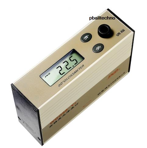 เครื่องวัดความเงา(Single-Gloss Meter) รุ่น WGG60-E4 Range 199GU มุม 60 ํ,WGG60-E4 Gloss Meter Stone Marble Photometer Brightness Meter Professional High Precision