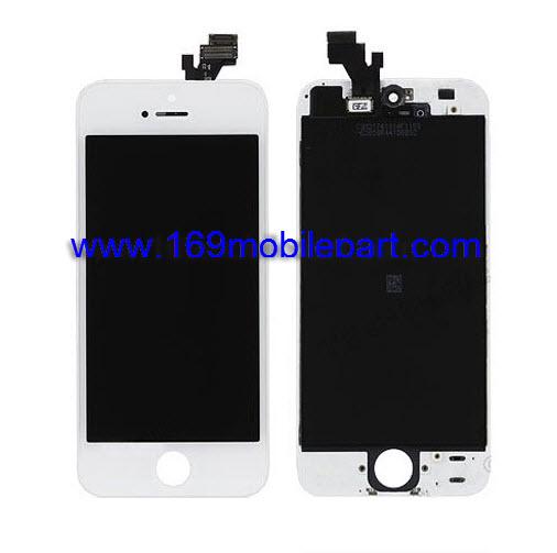 หน้าจอ iPhone 5 พร้อมทัช สีขาว งาน OEM