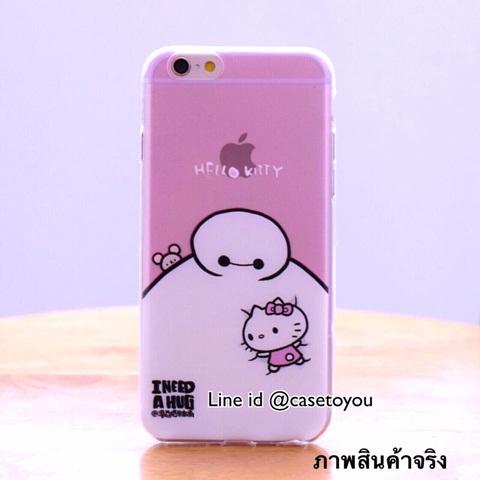 Ultra thin Baymax Kitty iPhone 5/5S/SE