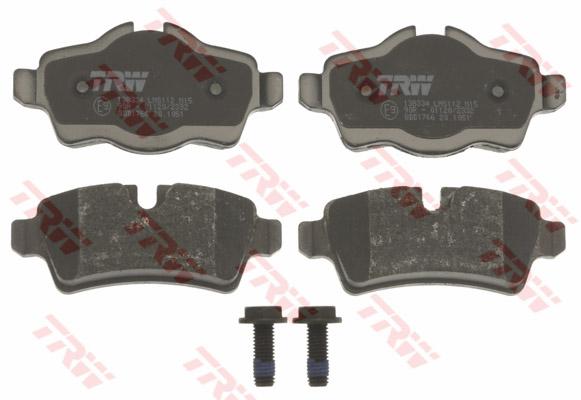 ผ้าดิสเบรค-หลัง MINI Clubman, Roadster (R55, R56, R57, R58, R59) / Rear Disc Brake, 34216778327