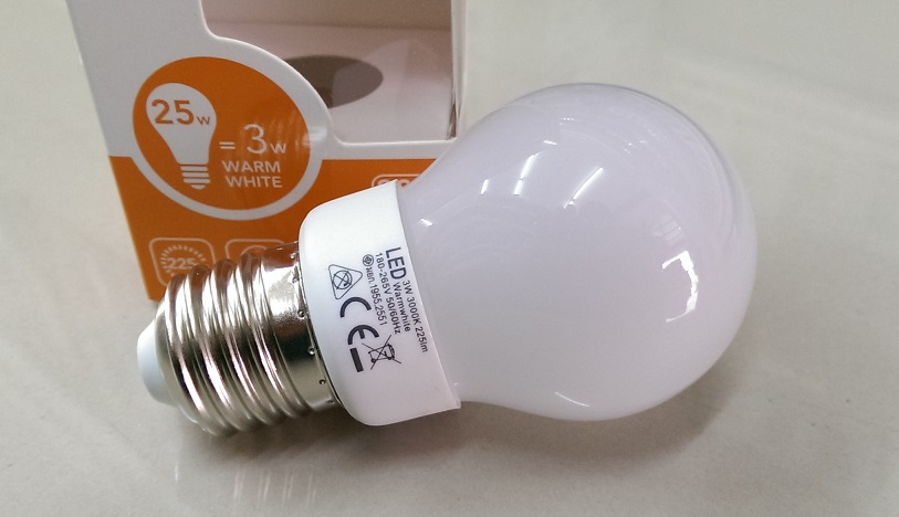 FSL LED 3W Warm แสงเหลือง