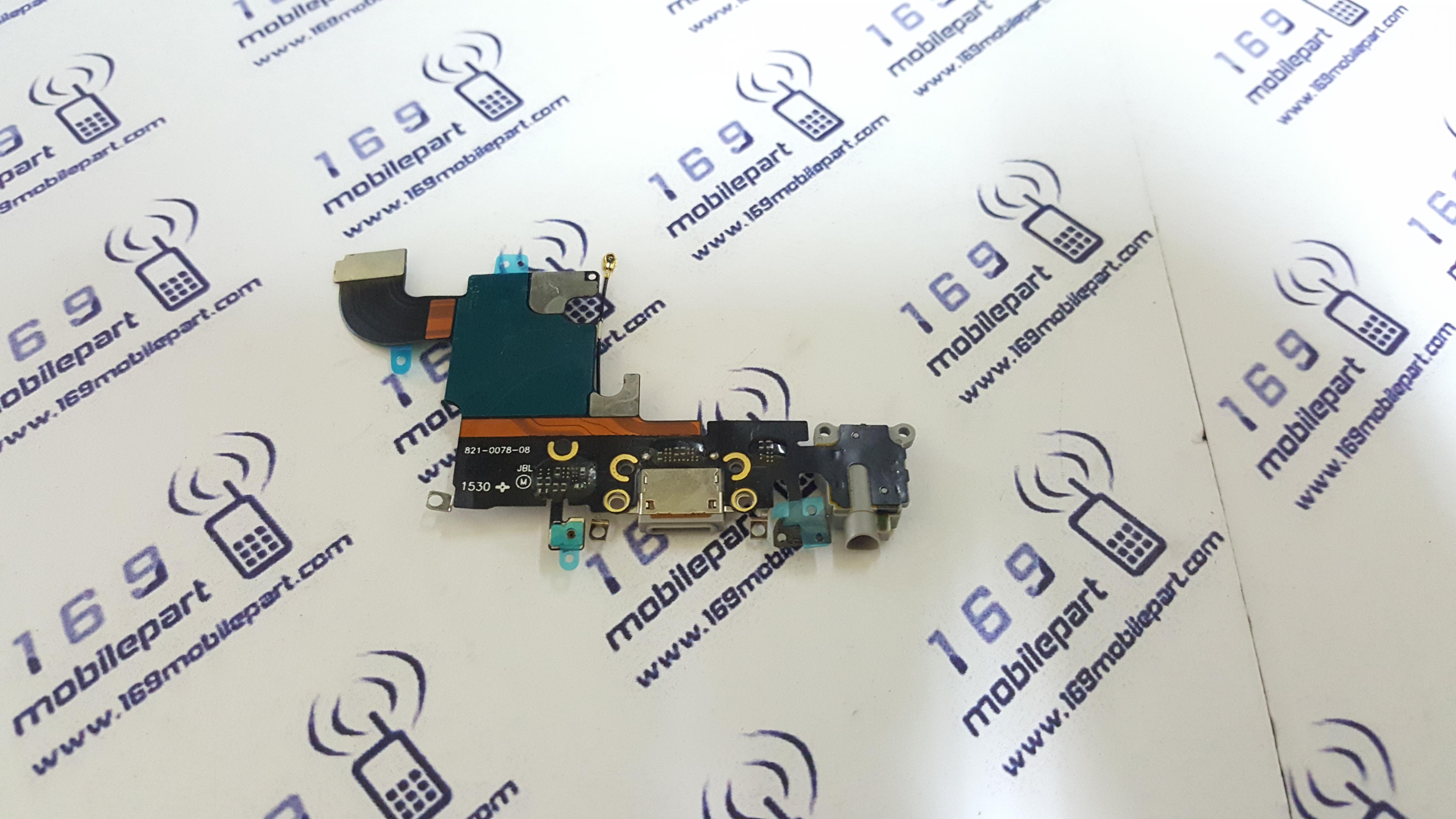 แพร USB + Mic 6S สีดำ (ตูดชารจ์)