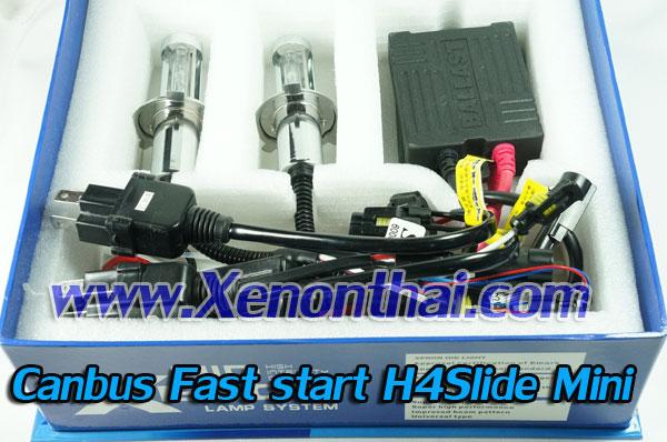 ไฟXenon kit H4Slide MInin Canbus AC35W + สายรีเลย์ Direct wire