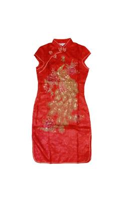 Ice Silk Loose Flower Print Mini Womens Dresses Online (Blue)