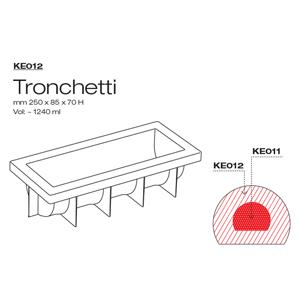 KE012 Mould Pavocake Tronchetto