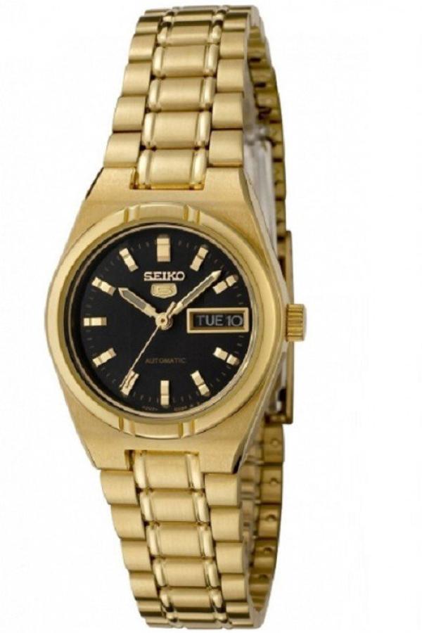 Seiko Women's SYM602K1 Automatic Gold Tone Watch