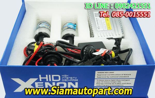 ไฟxenon kit 55W ขั้ว H1 Ballast X5 Canbus Fast Bright