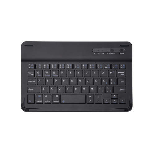 คีย์บอร์ดบูลทูธ สำหรับ Tablet 9-10 นิ้ว สีดำ