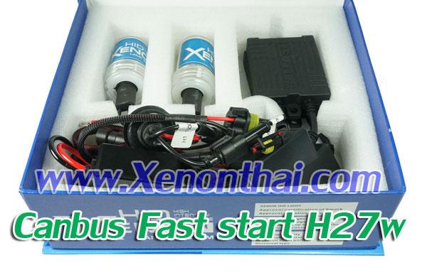 ไฟXenon kit H27W หรือ 880 Canbus AC35W Fast start