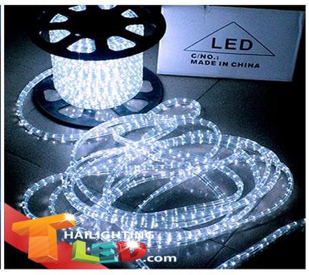 ไฟสายยาง(ท่อกลม) LED 100 m สีขาว