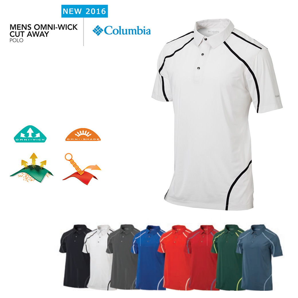 Columbia Cut Away Polo