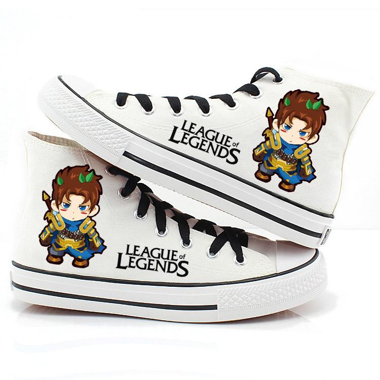 รองเท้าผ้าใบ league legends ver5