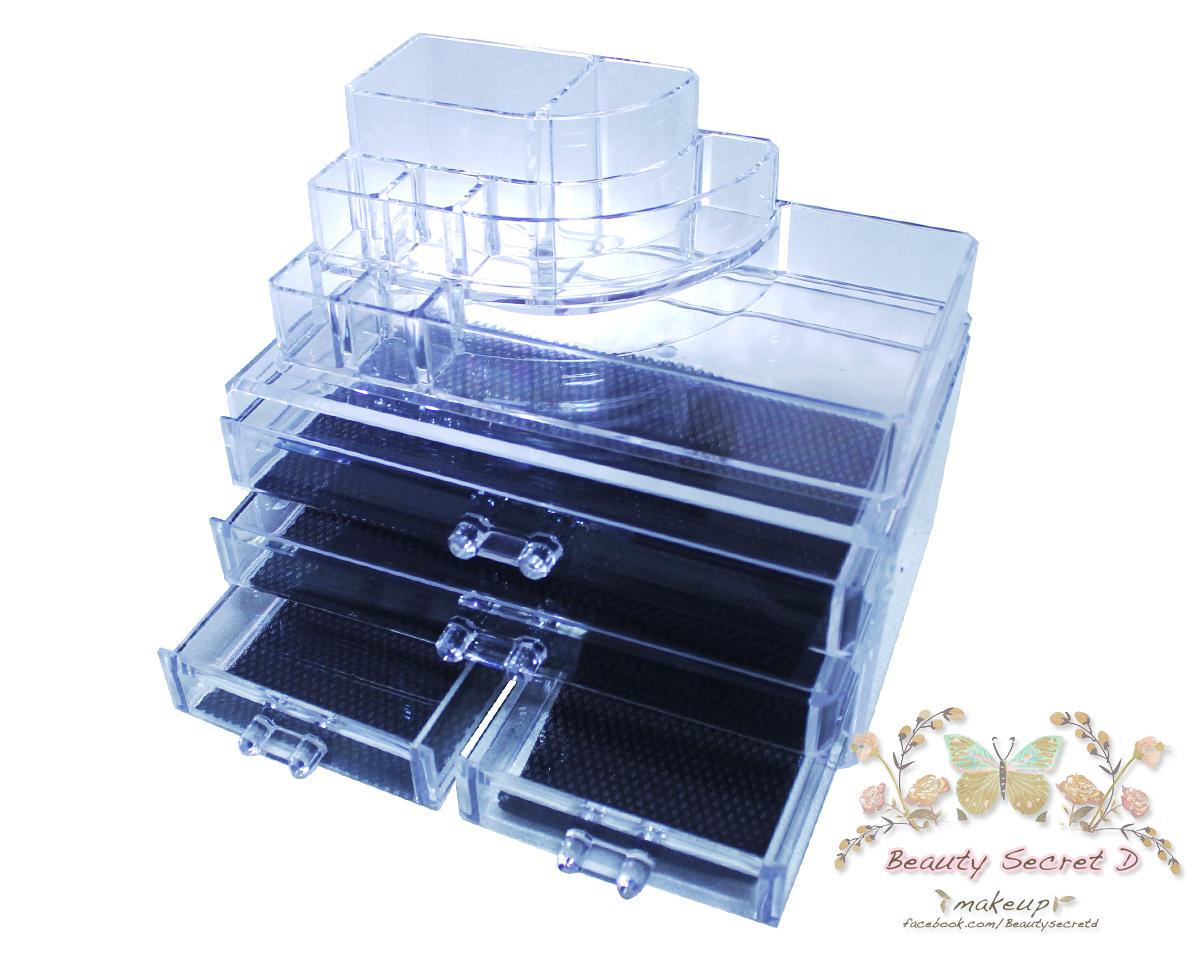 Acrylic Cosmetic Box กล่องอะคิลิคใส รุ่น E-006