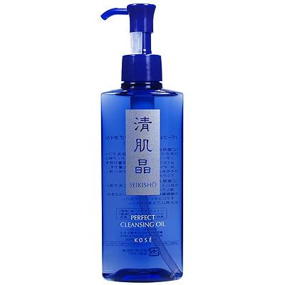 (ราคาเต็ม 850.- ลดมากกว่า 35%) Kose Seikisho Perfect Cleansing Oil 180 mL ออยล์โคเซ๋ ล้างได้สะอาดหมดจด